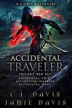 Accidental Traveler Box Set Volumes 1-3: An Epic Fantasy Gaming Adventure Trilogy